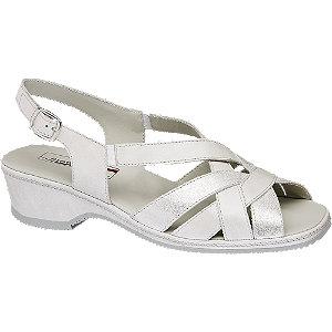 Levně Perleťové kožené komfortní sandály Medicus