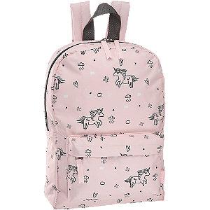 Levně Růžový dětský batoh s jednorožci