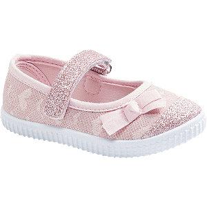 Levně Růžové dětské přezůvky Cupcake Couture