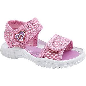 Levně Růžové dětské sandálky Cupcake Couture