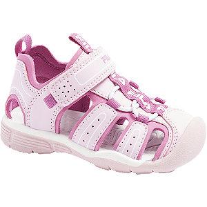 Levně Růžové dětské sandálky Fila