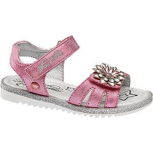 Levně Růžové dětské sandály Tom Tailor na suchý zip