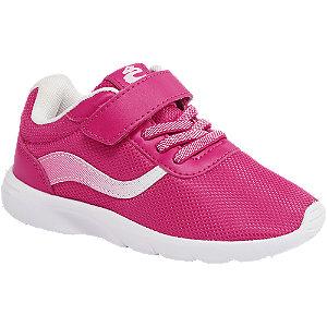 Levně Růžové dětské tenisky na suchý zip Cupcake Couture