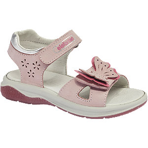 E-shop Růžové dívčí sandálky Elefanten