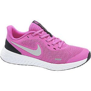 Levně Růžové dívčí tenisky Nike Revolution 5