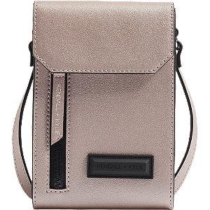 Levně Růžová kabelka přes rameno Kendall + Kylie