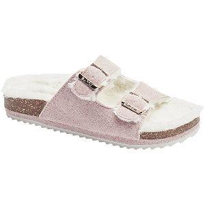 Levně Růžové pantofle Esprit
