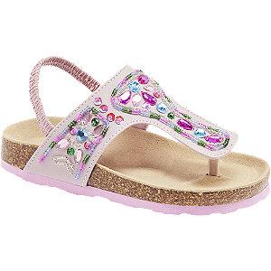 Levně Růžové sandálky Cupcake Couture