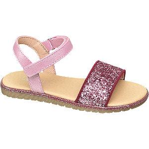 Levně Růžové sandály Cupcake Couture na suchý zip