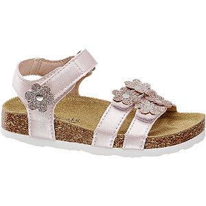 Levně Růžové sandály na suchý zip Cupcake Couture