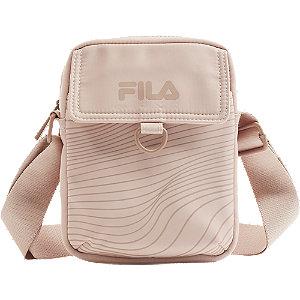 Levně Růžová taška přes rameno Fila