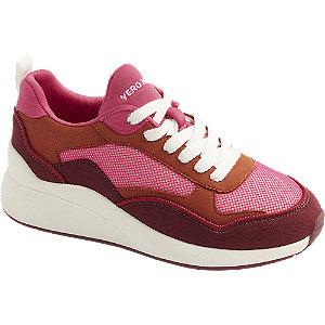 Levně Růžové tenisky Vero Moda