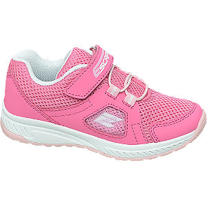 Levně Růžové tenisky na suchý zip Cupcake Couture