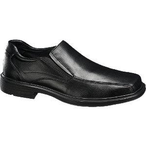 Sapato clássico de pele