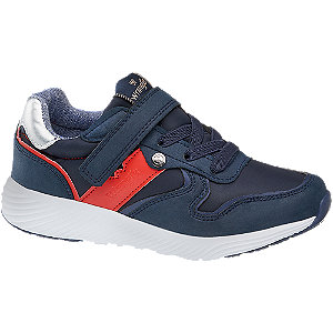 Kinder Wrangler Sneaker blau