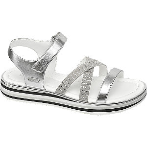 Levně Stříbrné sandály Esprit