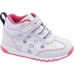 Levně Světle fialové dětské kotníkové tenisky na suchý zip Cupcake Couture