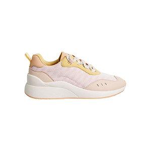 Levně Světle růžové tenisky Vero Moda