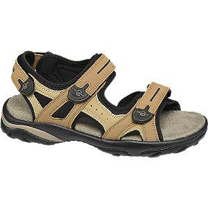 Levně Tmavě béžové sandály Memphis One