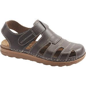 Levně Tmavě hnědé sandály Memphis One