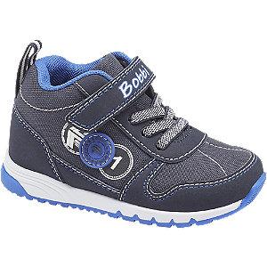 Levně Tmavě modré dětské kotníkové tenisky Bobbi-Shoes