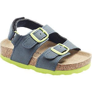 Levně Tmavě modré dětské sandály Bobbi-Shoes