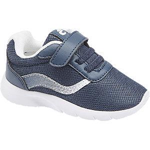 Levně Tmavě modré dětské tenisky Bobbi-Shoes