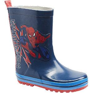 Levně Tmavě modré holínky Spiderman