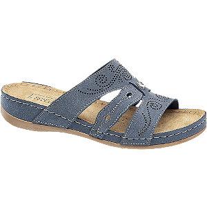 Levně Tmavě modré komfortní pantofle Easy Street