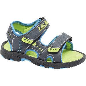 Levně Tmavě modré sandály Bobbi Shoes na suchý zip