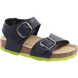 Levně Tmavě modré sandály Bobbi-Shoes