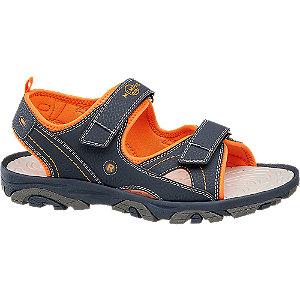 Levně Tmavomodré sandály Memphis One