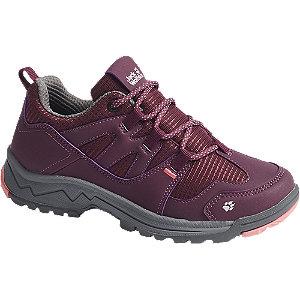 Levně Vínová outdoorová obuv Jack Wolfskin