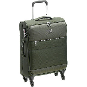 Levně Zelený cestovní kufr Saxoline_ vel. S