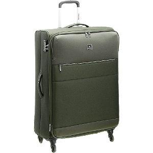 Levně Zelený cestovní kufr Saxoline_ velikost L