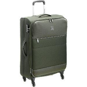 Levně Zelený cestovní kufr Saxoline_ velikost M