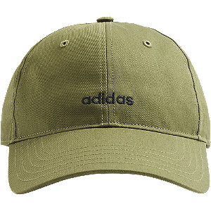 Levně Zelená kšiltovka Adidas Bsbl Street Cap