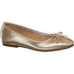 Levně Zlaté dívčí baleríny Cupcake Couture