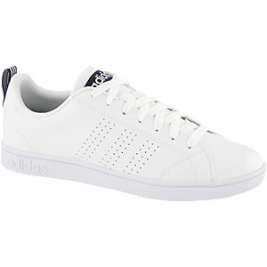 Adidas Advantage clean vs wit/blauw sneakers heren