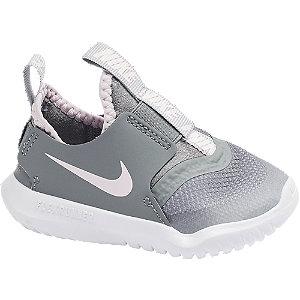 Levně Šedé dětské slip-on tenisky Nike Flex Runner
