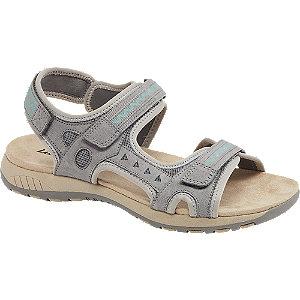 Levně Šedé outdoorové sandály Landrover