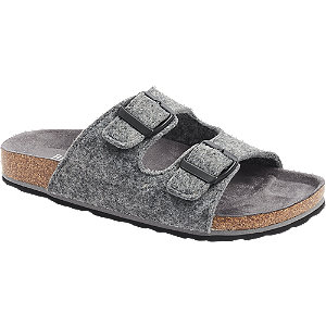Levně Šedé pantofle Björndal