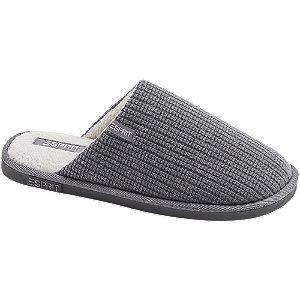 Levně Šedé pantofle Esprit