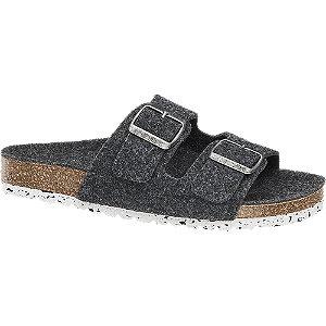 Levně Šedé pantofle Vero Moda
