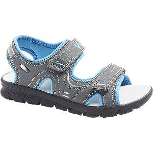 Levně Šedé sandály na suchý zip Vty