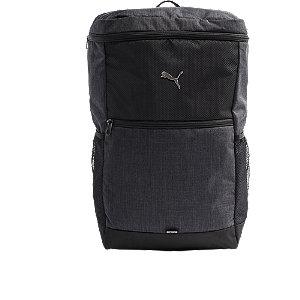 Levně Šedo-černý batoh Puma