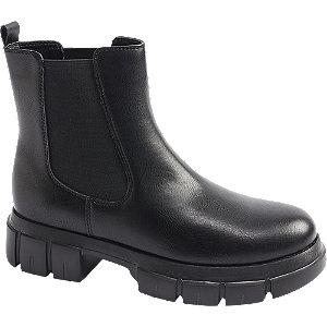 Levně Černá chelsea obuv Catwalk