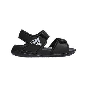 Levně Černé dětské sandály Adidas Alta Swim I