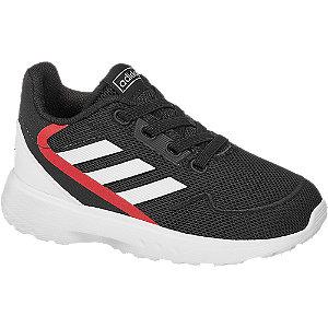 Levně Černé dětské slip-on tenisky Adidas Nebzed s elastickými tkaničkami