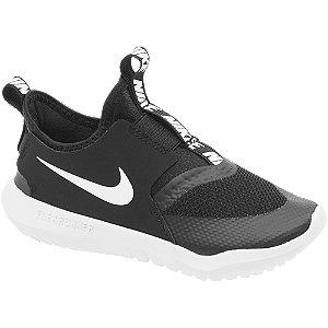 Levně Černé dětské slip-on tenisky Nike Flex Runner